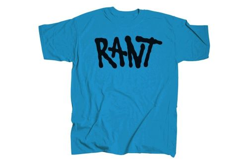 Rant Shred T -Shirt - Blue Medium